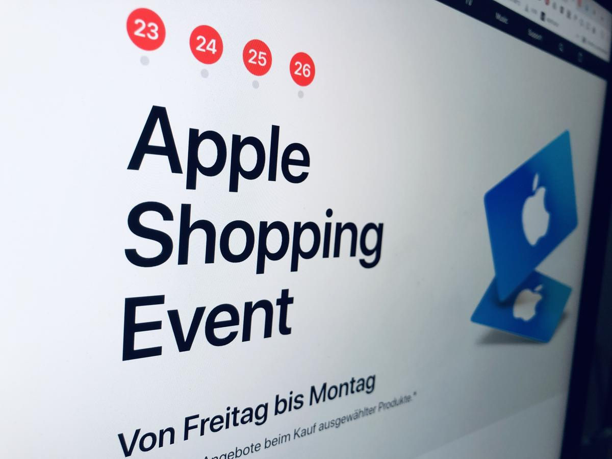 Rabatte Black Friday Itunes Gutscheine Statt Rabatte Black Friday 2018 Bei Apple Mac