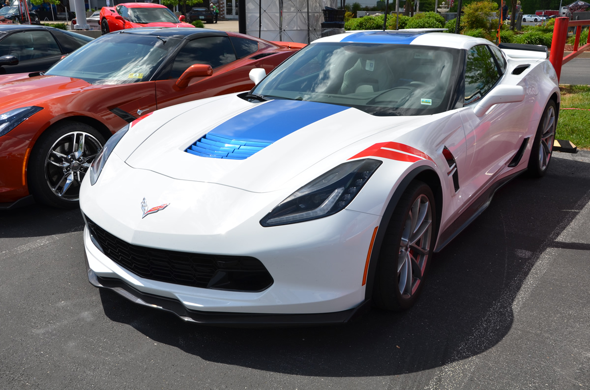 2017 corvette grand sport heritage package in arctic white macmulkin corvette 2nd largest corvette dealer in the country