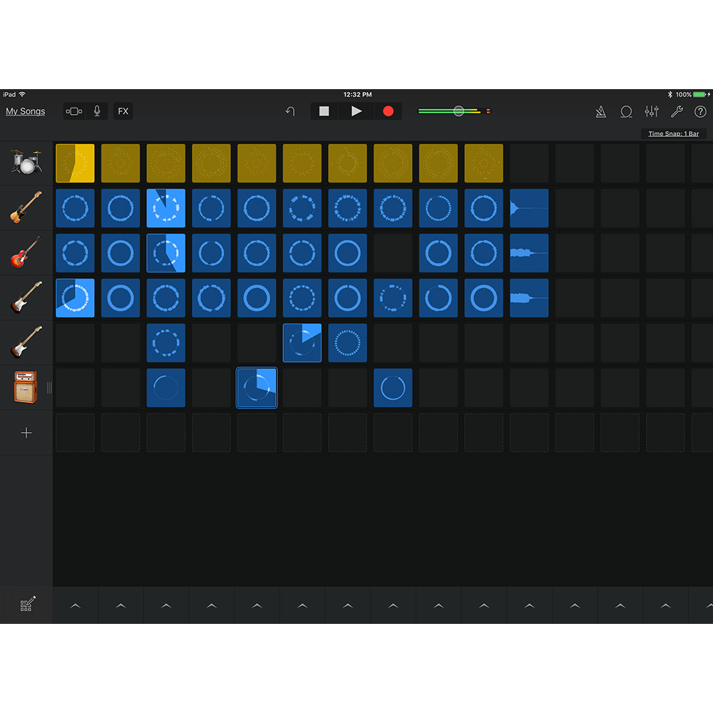 Garageband Loops Apple Unveils Garageband Live Loops For Iphone And Ipad The Mac