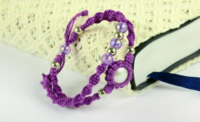 Diy Macrame Double Bracelet