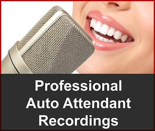 Professionalcustom Auto Attendant Recordings For Your Business Phone