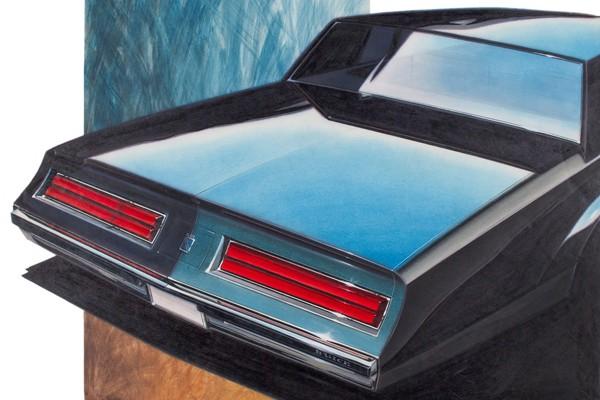 The automotive design art of Paul Deesen Mac\u0027s Motor City Garage