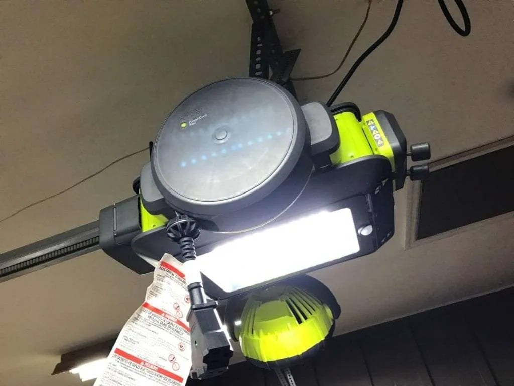 Ryobi Garage Door Fan Ryobi Garage Door Opener Review Mac Sources