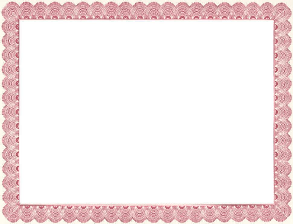 EL CAMINO REGISTRY Certificate