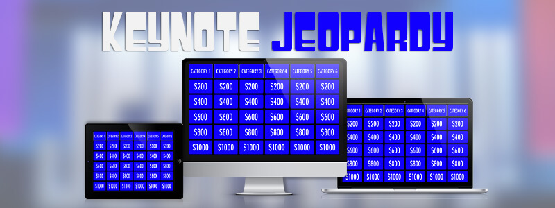 Jeopardy Template for Keynote MacTemplates - classroom jeopardy template