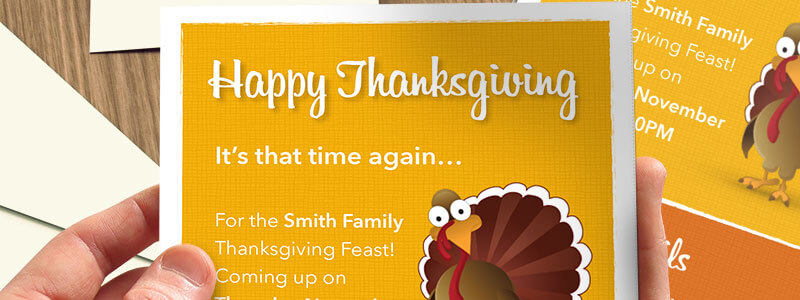 Thanksgiving Invitations Template for Pages - MacTemplates - thanksgiving invitation template