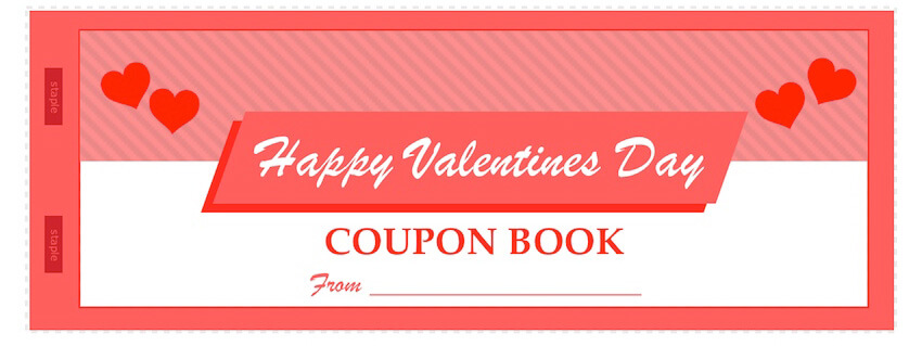 Valentine\u0027s Day Coupon Book Template - MacTemplates
