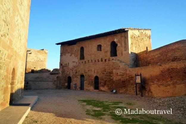 Dependencias templarias en el castillo de Monzón