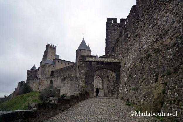 Porte d'Aude en Carcassonne