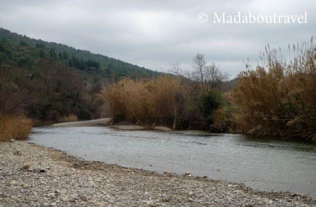 Río Orbieu a su paso por Lagrasse