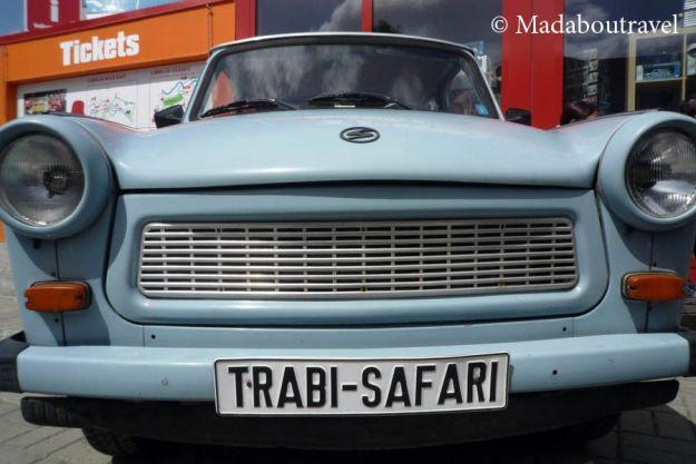 Un Trabant listo para un Trabi Safari