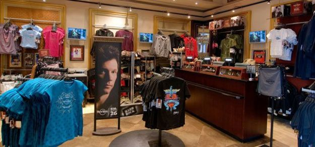 Rock Shop en Hard Rock Café de Barcelona