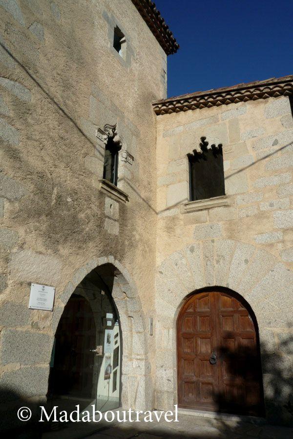 Un edificio medieval en el centro de Argentona