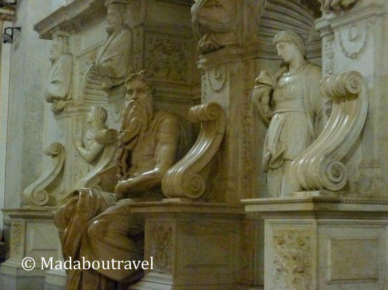 El Moisés de Miguel Ángel en San Pietro in Vincoli, Roma