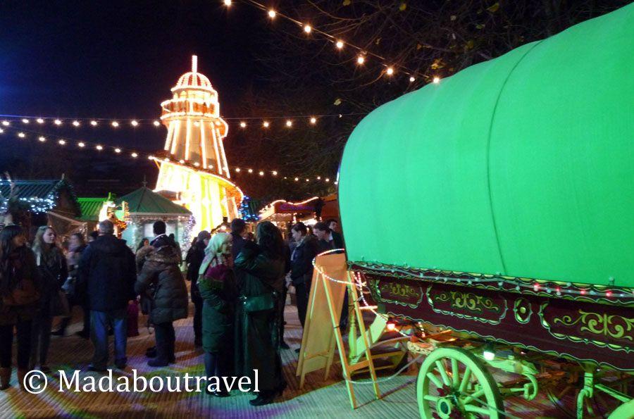Mercado de Navidad escocés en Edimburgo