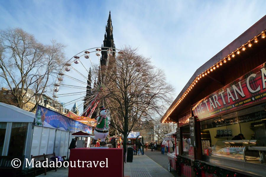 Highland Village Christmas Market, en Edimburgo