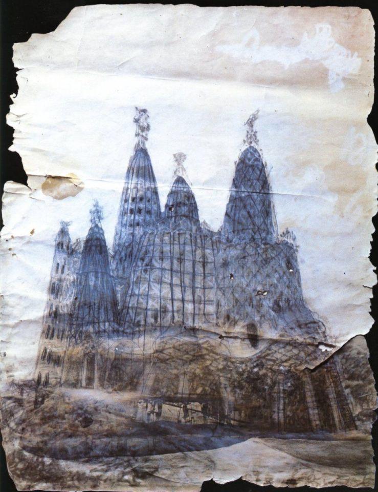 Proyecto original de la cripta (Fuente: Wikimedia Commons)