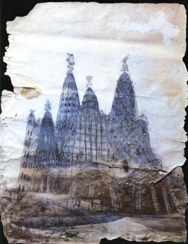 Maqueta de la iglesia de la Colonia Güell