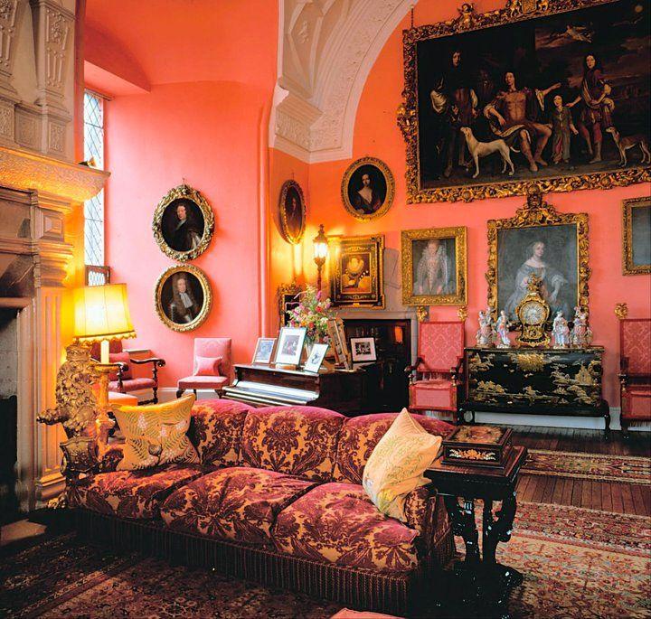 Sala de estar del siglo XVII en el castillo de Glamis (créditos: Glamis Castle)