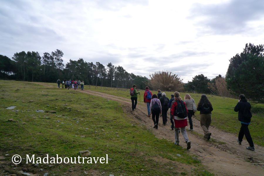 Ruta senderista en santa agn s de malanyanes y la for Piscina santa agnes de malanyanes