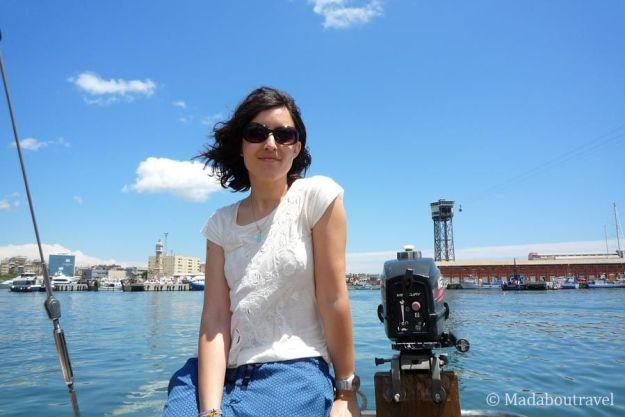 Disfrutando de Barcelona a bordo de un velero