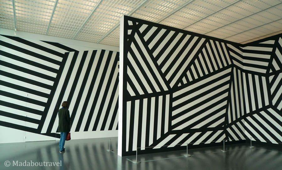 Retrospectiva de murales de Sol LeWitt