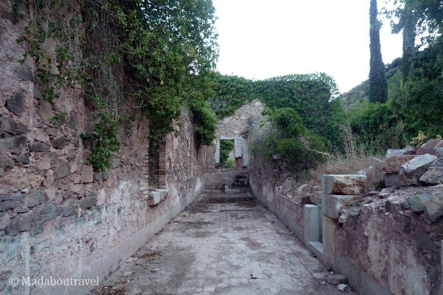 Ruinas en la Cartoixa de EScaladei