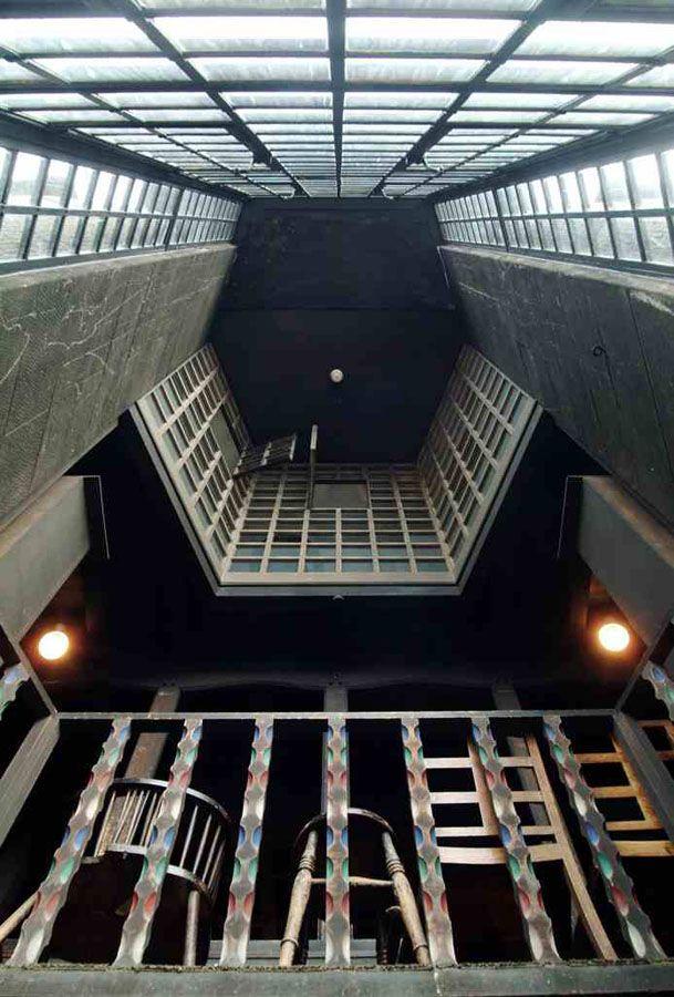 Techo de la Biblioteca Foto (c) The Glasgow School of Art