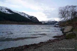 Loch Lubnaig nevado