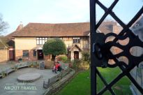 Vistas desde la ventana de la casa de Shakespeare