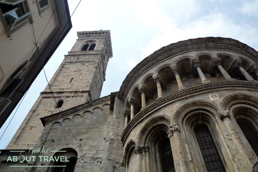 Santa Maria La Mayor en Bérgamo