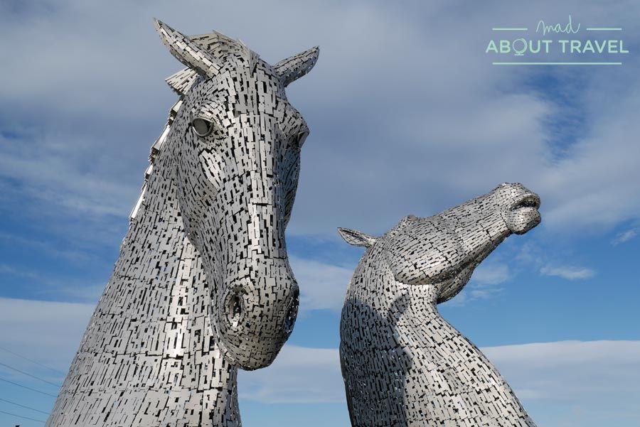 Los Kelpies, entre el mito y la historia en Falkirk