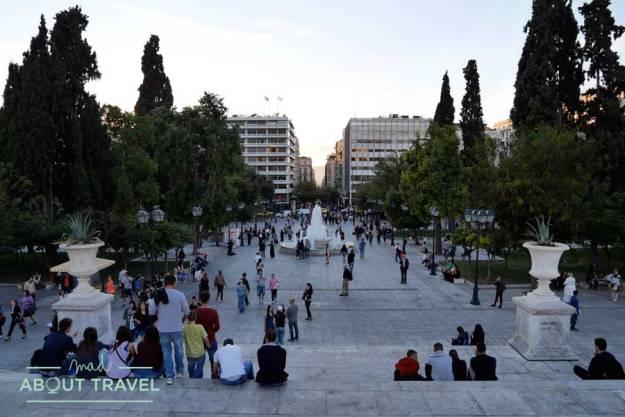 Plaza Sintagma de Atenas