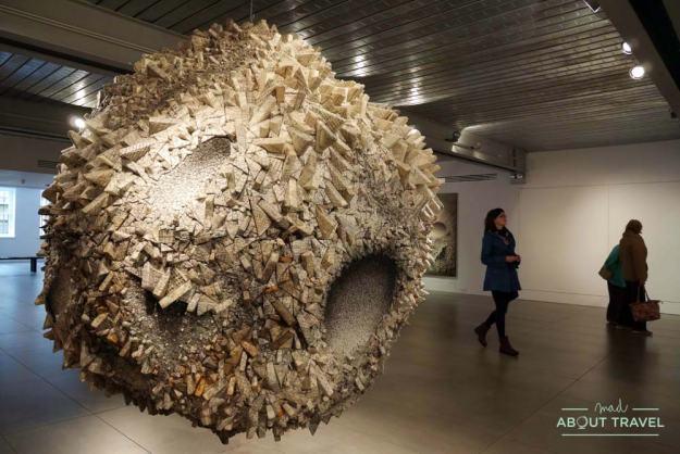 Exposición de Kwang Young Chun en la Dovecot Gallery