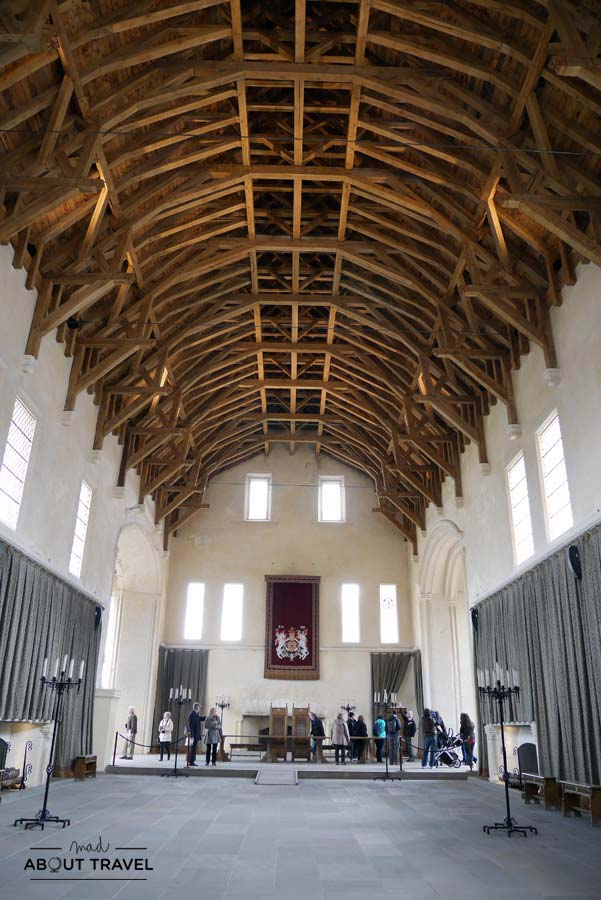 Interior del Gran Salón de Stirling