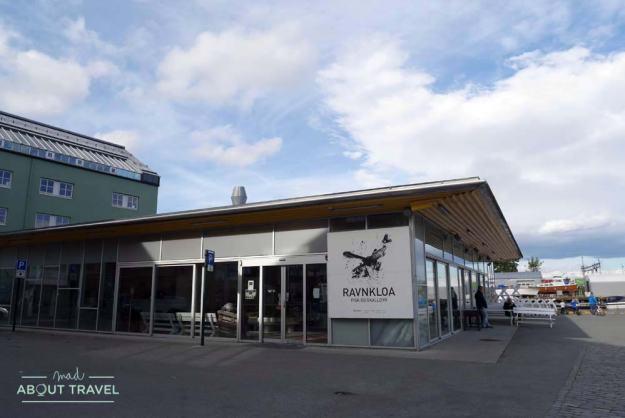 Mercado del pescado de Ravnkloa en Trondheim