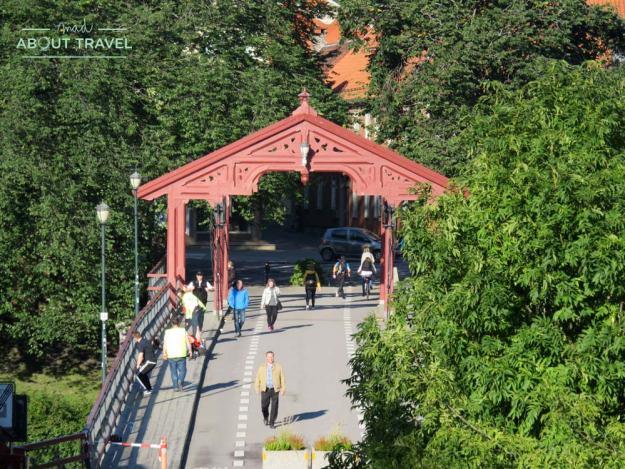 Puente viejo de Trondheim