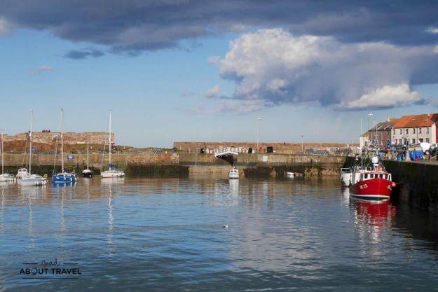 Puerto de Victoria Harbour en Dunbar