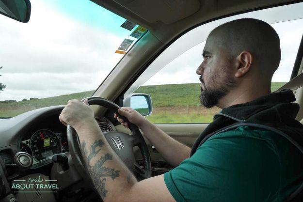 ruta en coche por Nueva Zelanda
