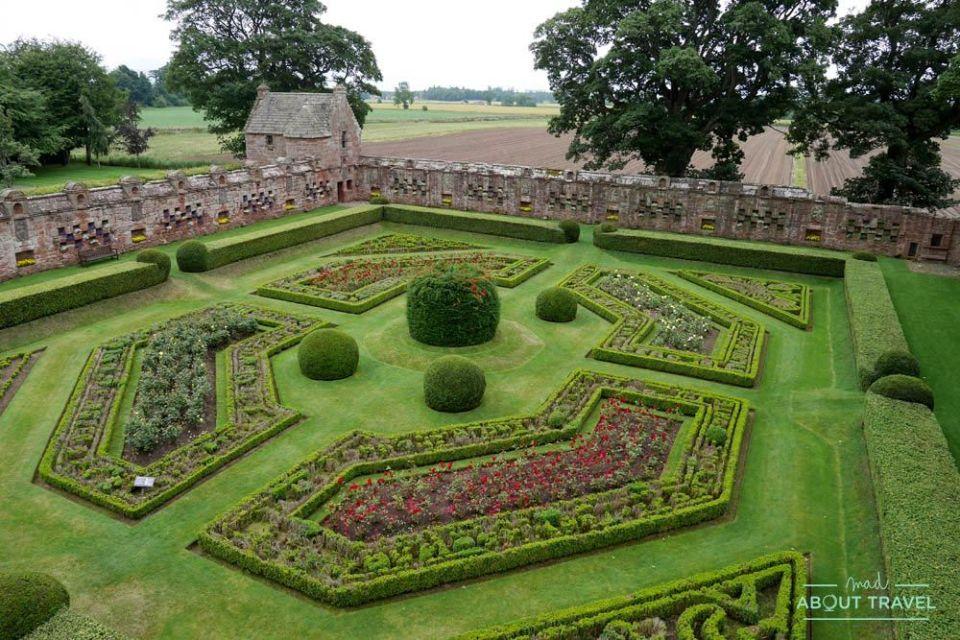 castillo de edzell escocia