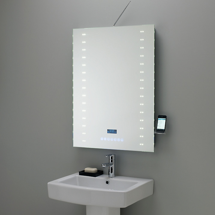 Large Bathroom Mirror Objects Of Design #175: Digital Radio Mirror - Mad About