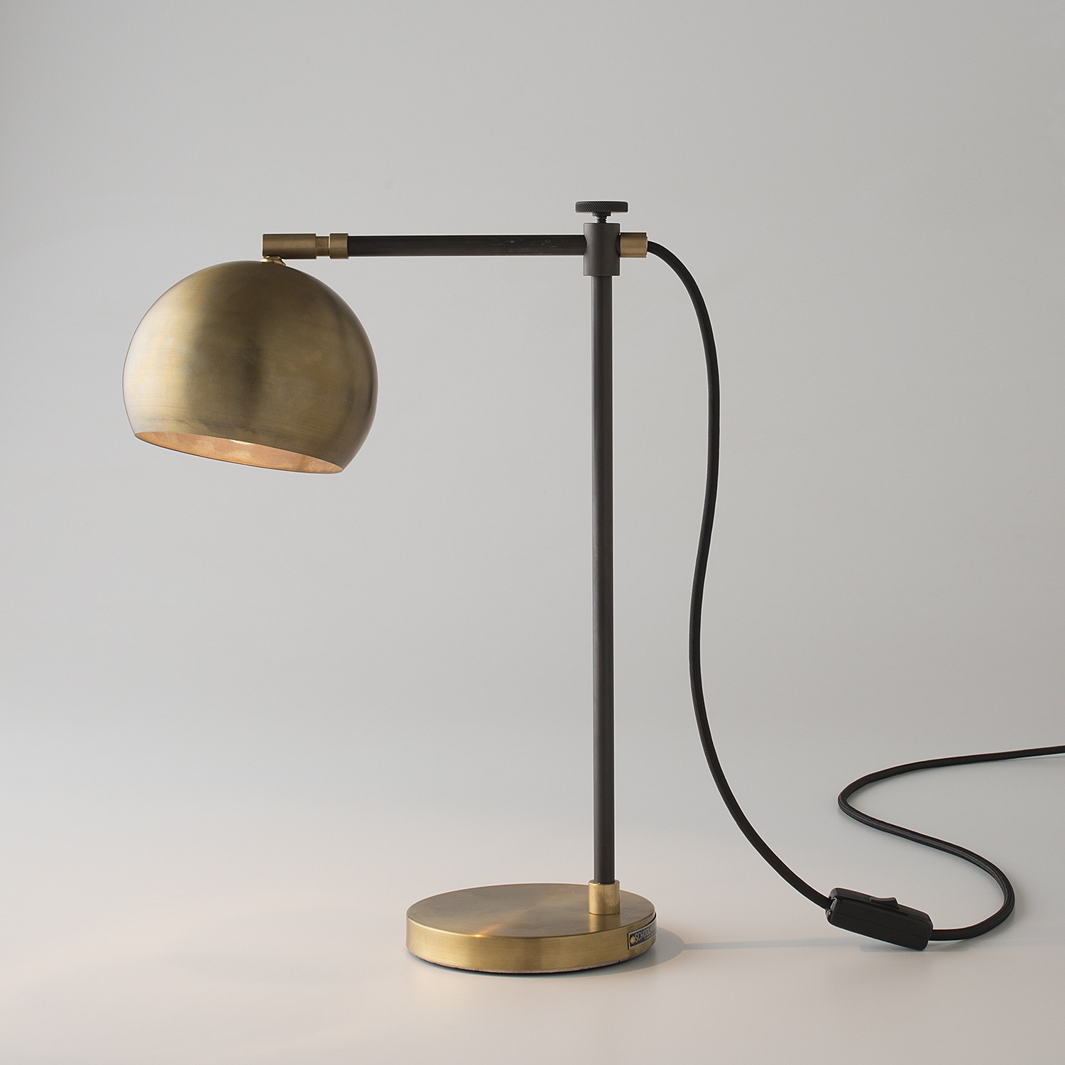 Desk Light Brass Shelf And Wall Lights From School House Electric