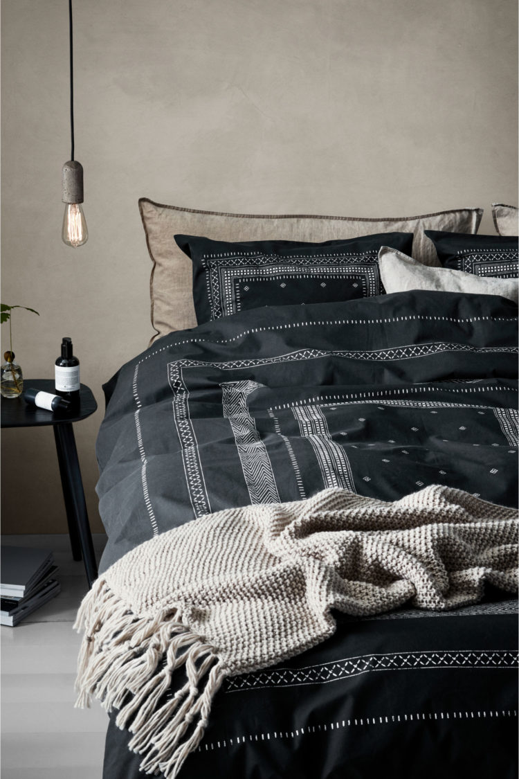 Patterned Duvet Cover Black Patterned Duvet Cover From H M Mad About The House