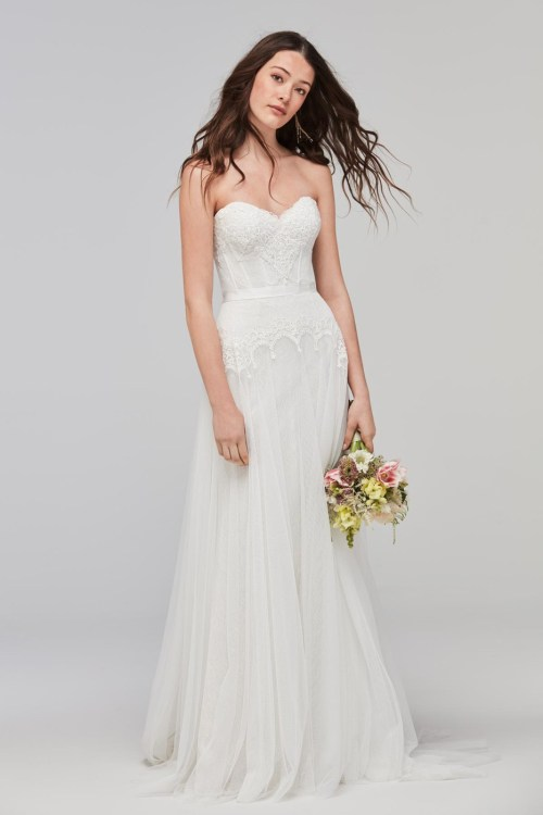 Ideal Willowby Lupine Strapless Wedding Dress Willowby Lupine Strapless Wedding Dress Strapless Wedding Dresses Are Tacky Strapless Wedding Dresses Ugly