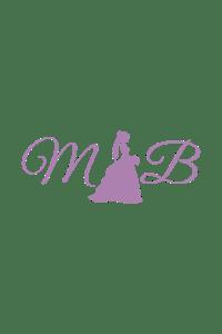 Jovani 35023 Floral Print Prom Dress | MadameBridal.com