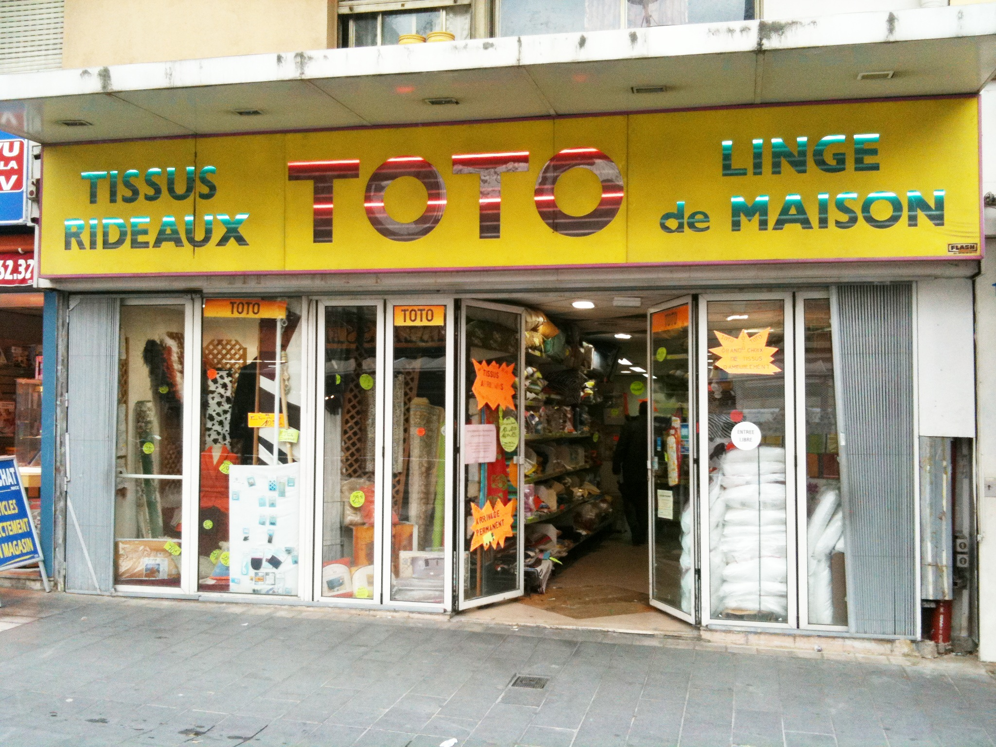 Magasin Toto Tissus Pas Chers : Toto à Nice | Madame Choup