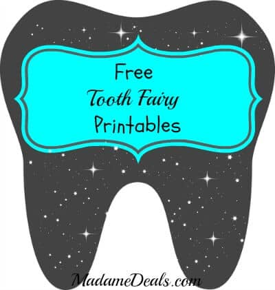 Free Printable Tooth Fairy Letters - Real Advice Gal