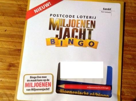 miljoenen jacht bingo
