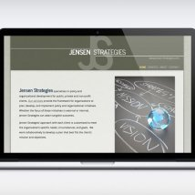 Jensen Strategies website