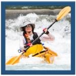 Glenn kayaking